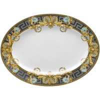 Piatto ovale 40 cm Prestige Gala Bleu