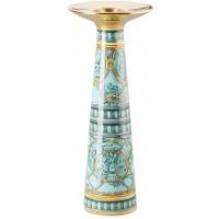 Vaso candeliere 25cm Scala Palazzo Verde