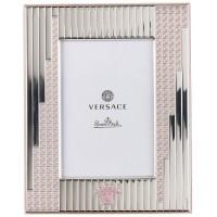 Cornice 13x18cm silver pink