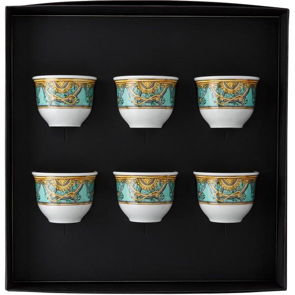 Set 6 tazze da caffè senza manico Scala Palazzo Verde