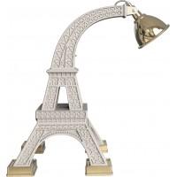 Lampada da tavolo bianca Paris