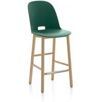 Sgabello 99cm verde Alfi counter stool
