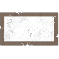 capezzale orizzontale sacra famiglia 110x63cm