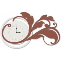 orologio foglia 115x70cm