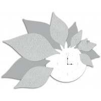 orologio foglie 115x89cm