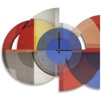 orologio geometrico 49x40,5cm