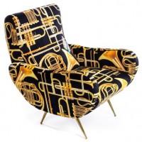 Poltrona tromboni armchair toiletpaper Seletti