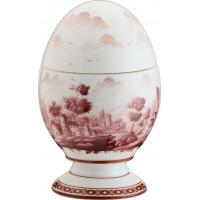 Uovo con coperchio Paesaggio Rame