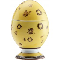 Uovo con coperchio Paesaggio Citrino