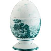 Uovo con coperchio Paesaggio Ottanio