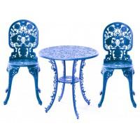 Set blu tavolino e 2 sedie industry