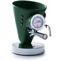 macchina da caffè diva in pelle verde