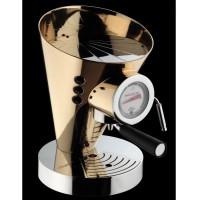 macchina da caffè diva placcata oro 24 carati