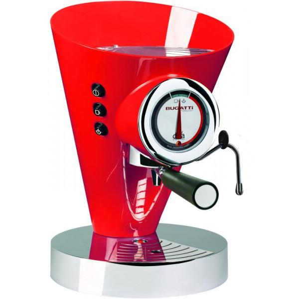 macchina da caffè diva evolution rossa
