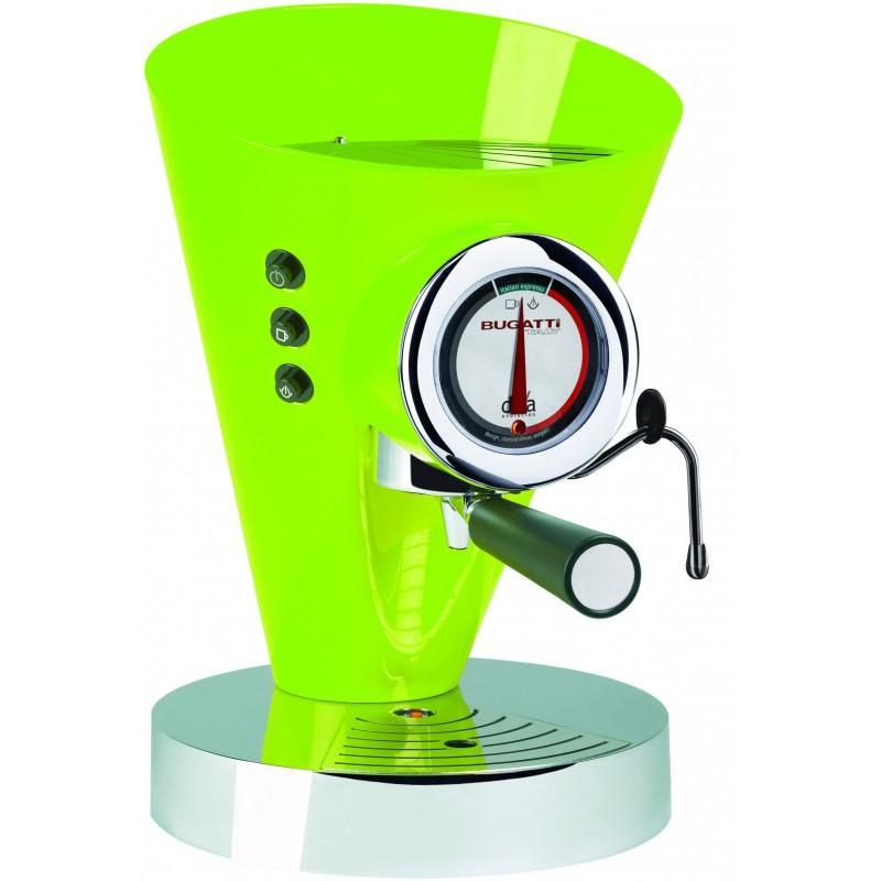 macchina da caffè diva evolution verde mela