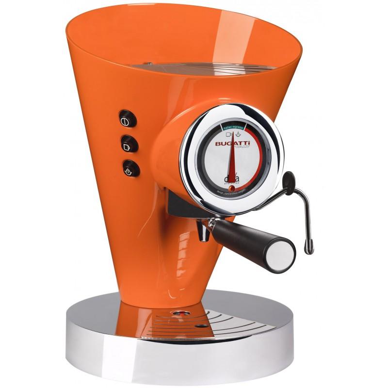macchina da caffè diva evolution arancio