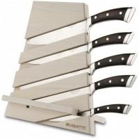 cappo tagliere con 5 coltelli Pakka