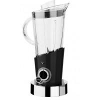 frullatore vela nero con 146 cristalli swarovski
