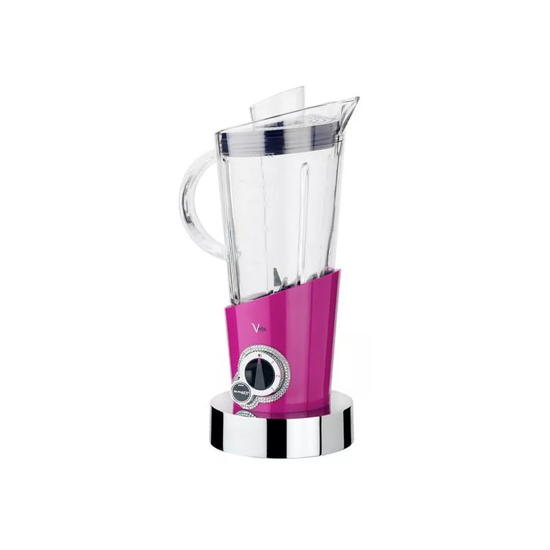 frullatore vela lilla con 146 cristalli swarovski