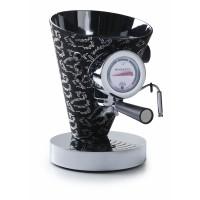 macchina da caffè diva nera con 14000 cristalli swarovski
