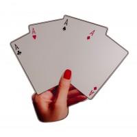 Specchio Poker Shaped Mirror