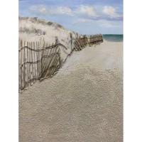 Quadro Playa blanca 90x120cm