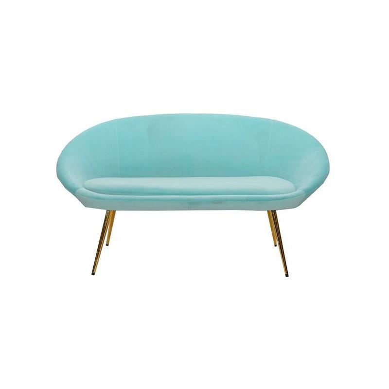 Divano sofà verde tiffany