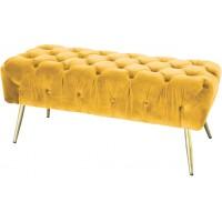 Panca fondo letto gialla