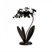 Lampada da tavolo Orchidea bronzo 57cm
