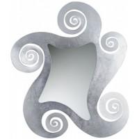 Specchio Circe argento
