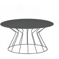 Tavolino Filo ovale ardesia 53cm