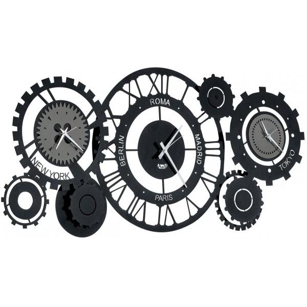 Orologio da parete Fuso Meccano