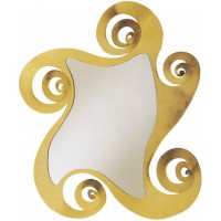Specchio Circe oro