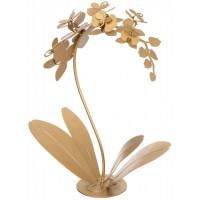 Pianta da soggiorno decorativa Orchidea oro trasparente 33cm