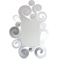 Specchio Temple argento 130cm