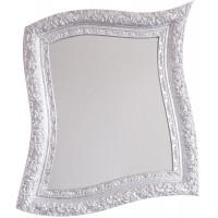 Specchio da parete artistico Neo Barocco argento 90cm