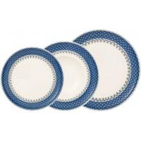 Set 18 piatti Casale Blu