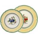 Set 12 piatti bianchi Valence French Garden