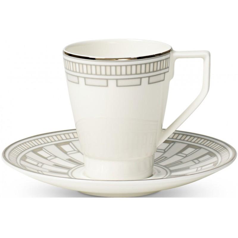 Set 6 tazze caffè con piattino La Classica