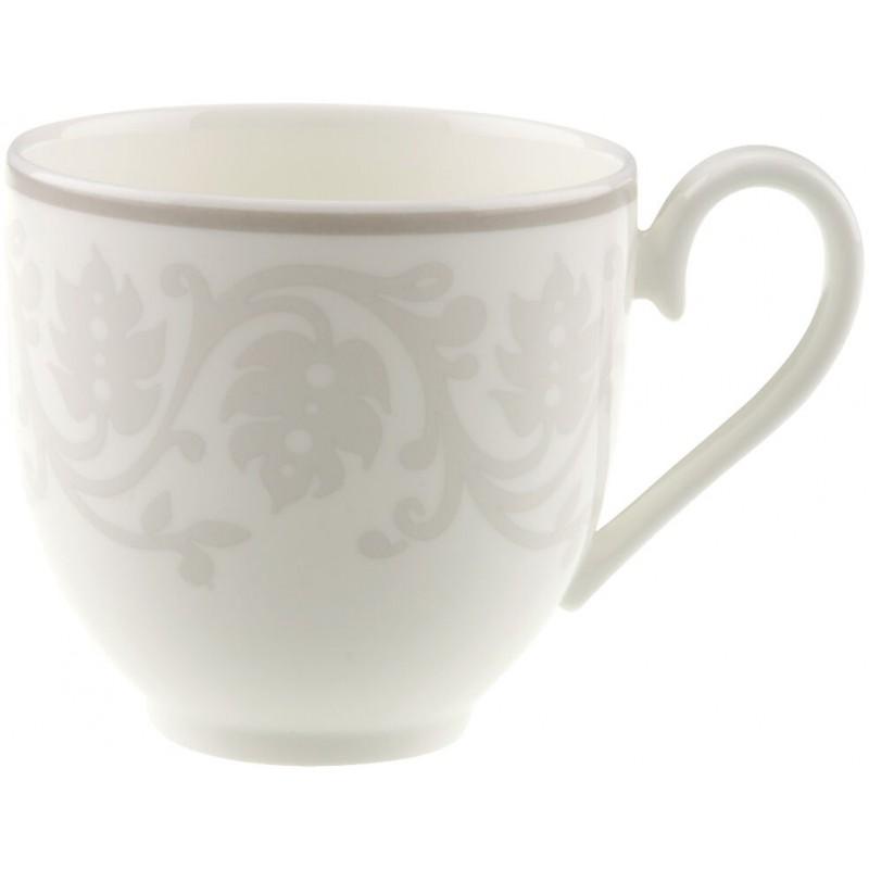 Set 6 tazze caffè con piattino e zuccheriera Grey Pearl