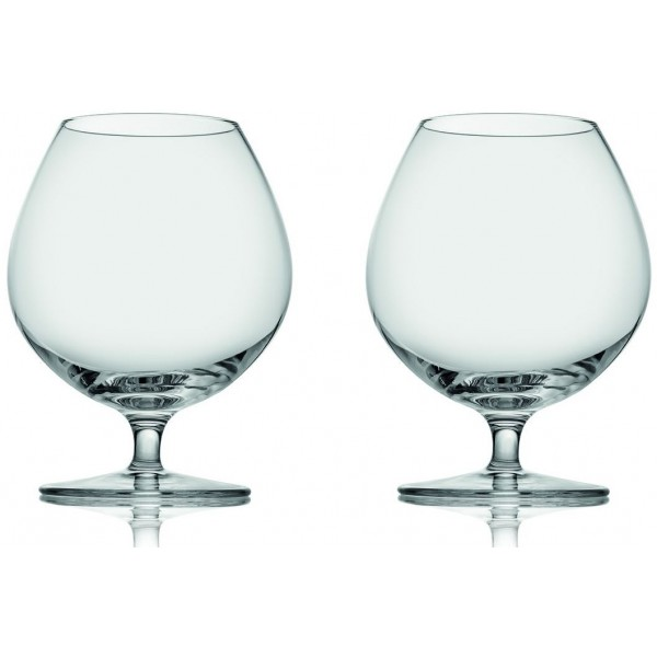 Set 2 calici cognac tasting hour