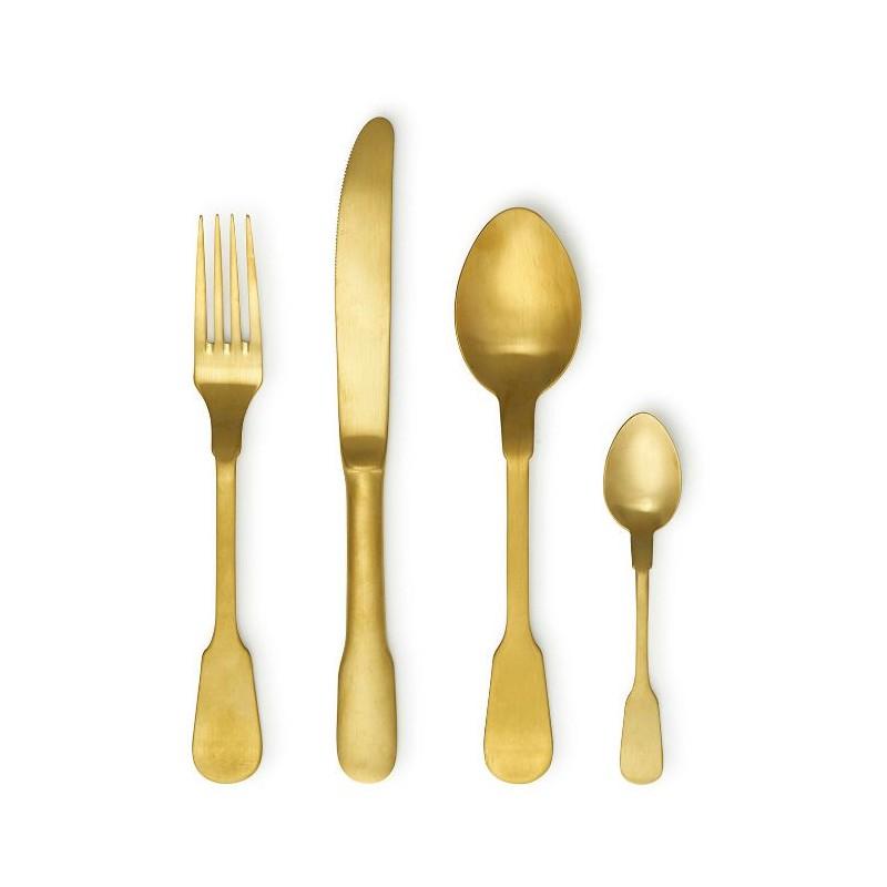 Set 24 posate oro classic
