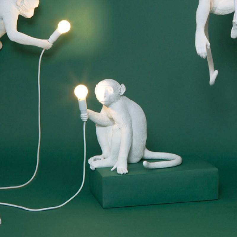 Lampada Scimmia Monkey Lamp Seletti Domustore Luxury Store