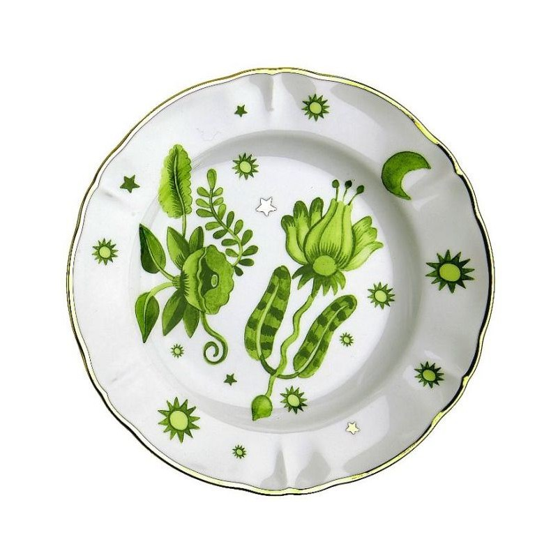 Set 3 piatti tavola scomposta verde