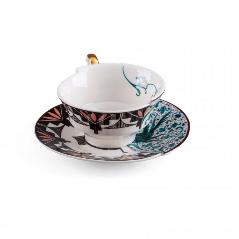 Tazza tè con piattino Aspero Hybrid 2.0
