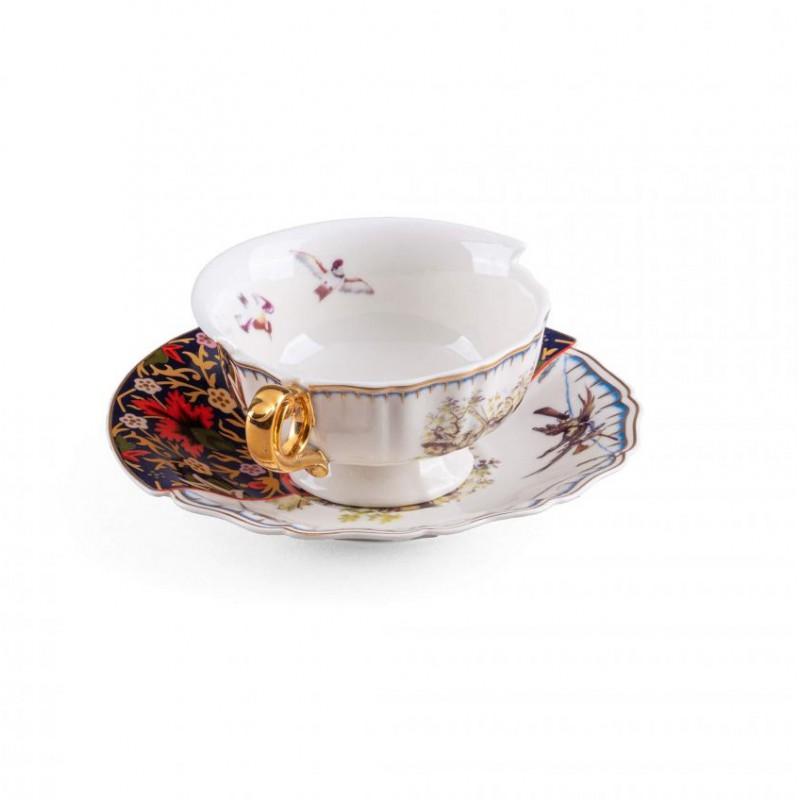 Tazza tè con piattino Kannauj Hybrid 2.0