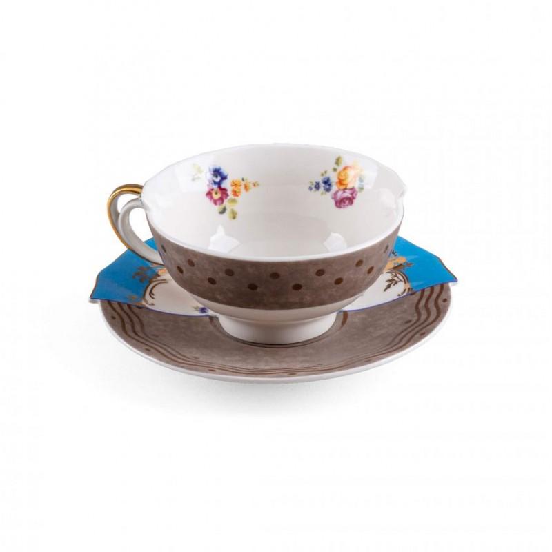 Tazza tè con piattino Kerma Hybrid 2.0