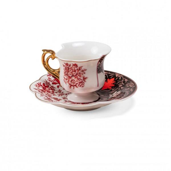 Tazza caffè con piattino Sagala Hybrid 2.0