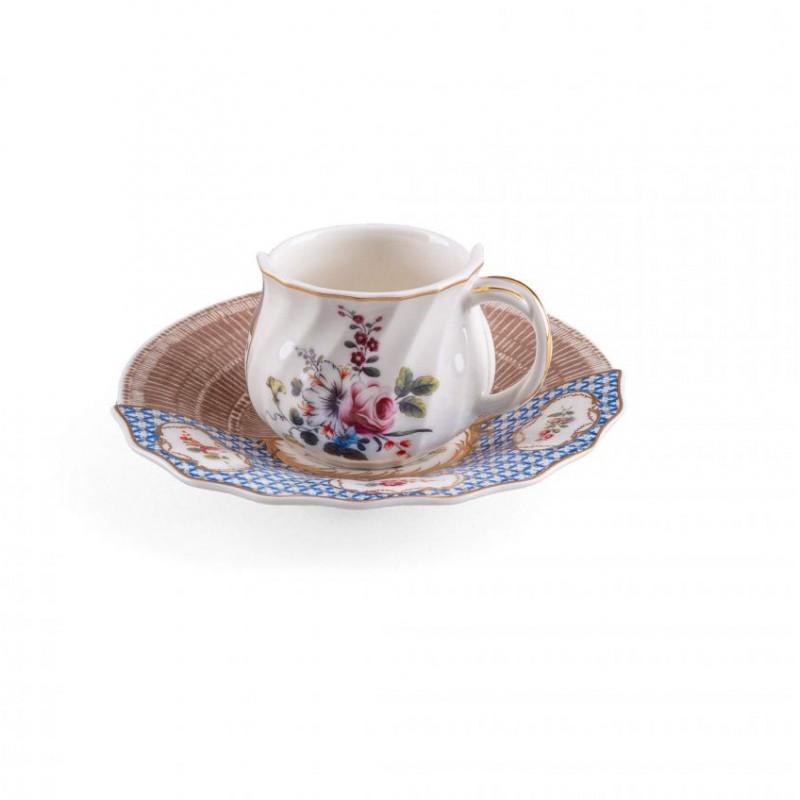 Tazza caffè con piattino Djenne Hybrid 2.0
