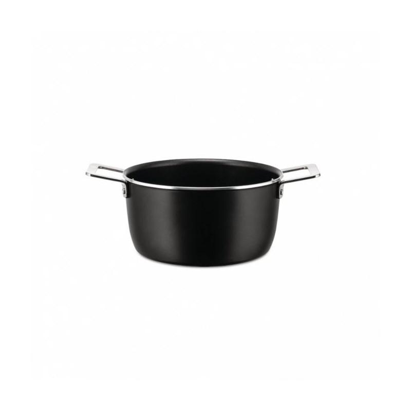 Batteria di pentole 6 pezzi pots&pans black
